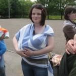 Встреча кормящих мам в Минске на улице