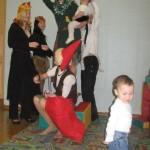 Встреча кормящих мам на Новый год