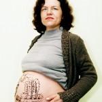 Портрет беременной мамы фото